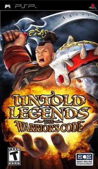 Untold Legends: The Warrior's Code - Image: Untold Legends The Warrior's Code