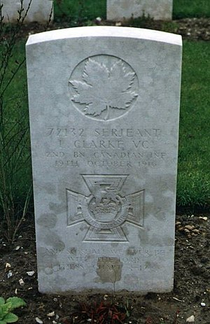 Leo Clarke (VC) - Grave