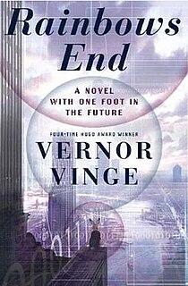 <i>Rainbows End</i> science fiction novel by Vernor Vinge