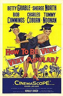 <i>How to Be Very, Very Popular</i> 1955 film by Nunnally Johnson
