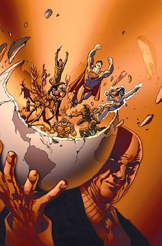 Secret Society of Super Villains - Lex Luthor's Secret Society, as seen in Villains United: Infinite Crisis Special (2006) Art by Karl Kerschl