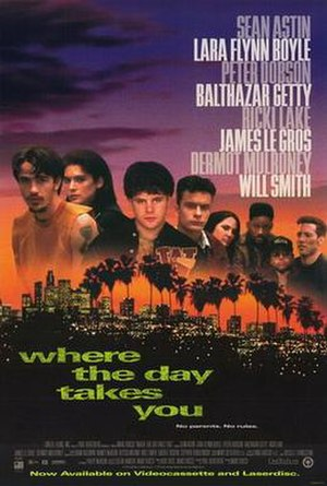 Where the Day Takes You - Video release poster