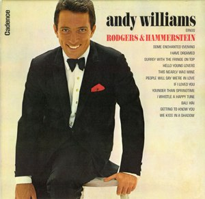 Andy Williams Sings Rodgers and Hammerstein - Image: Williams Rodgers 2