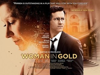 Woman in Gold (film) - UK theatrical release poster