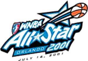 2001 WNBA All-Star Game - Image: Women's National Basketball Association (All Star Game, 2001) (logo)