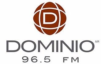 XHMSN-FM - Image: XHMSN dominioradio 96.5 logo