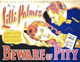 "Beware of Pity - Image: ""Beware of Pity"" (1946)"