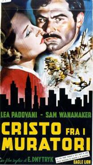 Give Us This Day - Italian theatrical poster