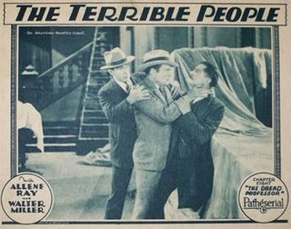 <i>The Terrible People</i> 1928 film