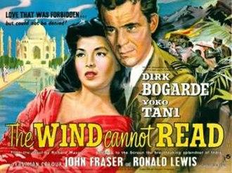 The Wind Cannot Read - Original British quad poster
