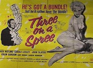 """Three on a Spree - Image: """"Three on a Spree"""" (1961)"""