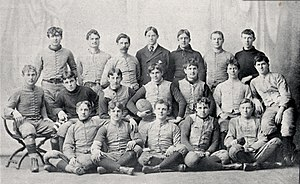 1893 Ohio State Buckeyes football team - Image: 1893 Ohio State football team