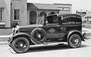 Panel van - 1931 Ford Model A Town Car Delivery