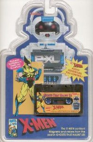 2-XL - A 2-XL X-Men cassette tape.