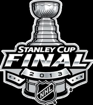 2013 Stanley Cup Finals - Image: 2013 Stanley Cup Final Logo