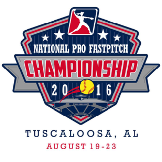 2016 National Pro Fastpitch season - Logo for the 2016 NPF Championship Series