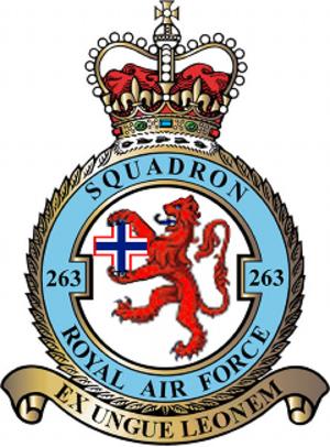 No. 263 Squadron RAF - 263 Squadron badge
