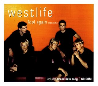 Fool Again 2000 single by Westlife