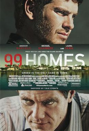 99 Homes - Theatrical release poster