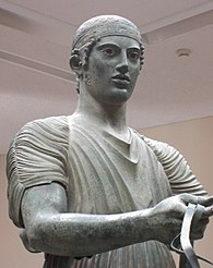 The Charioteer of Delphi, Delphi Archaeological Museum.