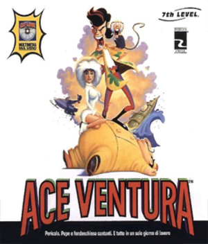 Ace Ventura: The CD-Rom Game - Boxart