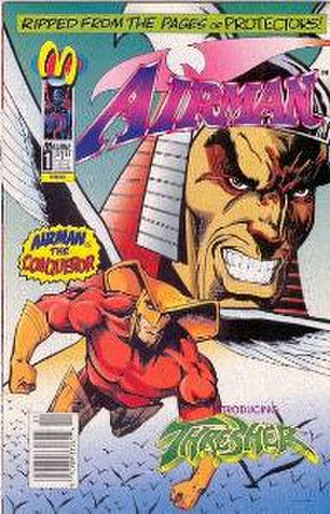 Airman (comics) - Image: Airman Malibu Comics