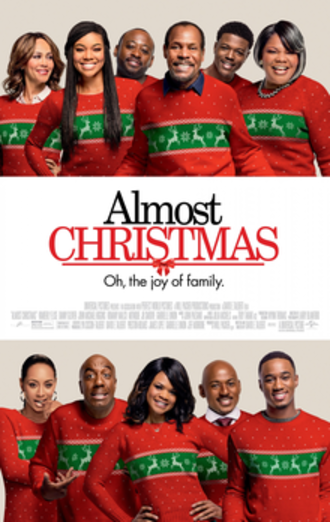 Almost Christmas (film) - Theatrical release poster