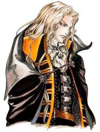 Alucard (Castlevania) - Alucard in Castlevania: Symphony of the Night, artwork by Ayami Kojima