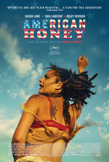 <i>American Honey</i> (film) 2016 film by Andrea Arnold