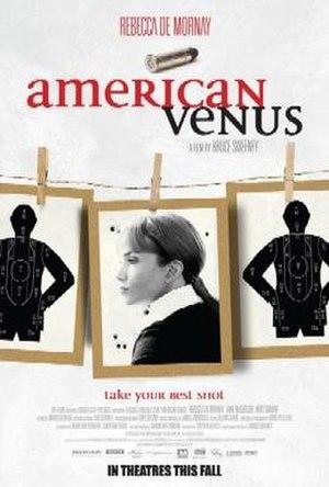 American Venus - Theatrical release poster