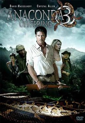 Anaconda 3: Offspring - DVD cover for Anaconda III