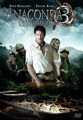 Anaconda 3: Offspring - DVD cover
