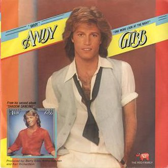 Why (Andy Gibb song) - Image: Andygibbwhy