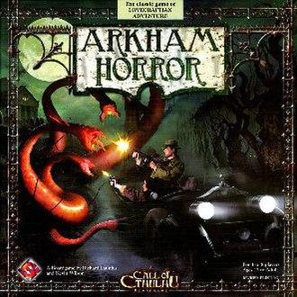 Arkham Horror - Image: Arkham Horror revised box