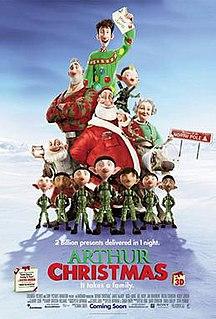 <i>Arthur Christmas</i> 2011 USA-UK 3D-animated film directed by Sarah Smith
