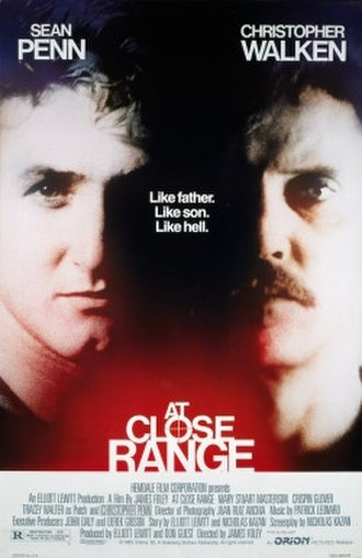 At Close Range - Theatrical release poster