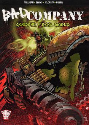 Bad Company (comics) - Cover of the Bad Company: Goodbye, Krool World trade paperback by Jock