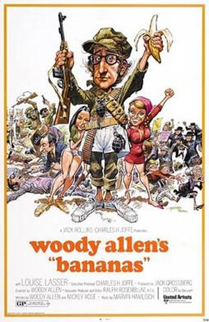 Bananas (film) - Theatrical release poster by Jack Davis
