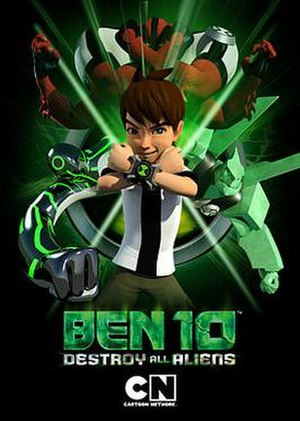 Ben 10: Destroy All Aliens - Promotional poster for the film.