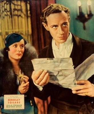 Berkeley Square (film) - Berkeley Square (1933, Lobby Card), Leslie Howard and Betty Lawford