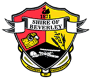 Silver Centenary - Shire Crest, with the Silver Centenary