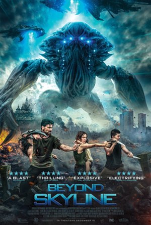 Beyond Skyline - Theatrical Release Poster