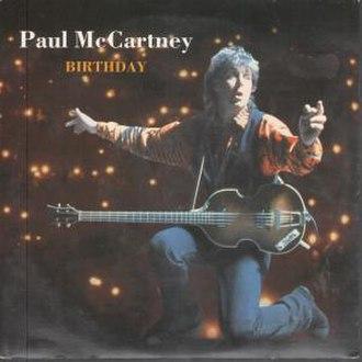 Birthday (Beatles song) - Image: Birthday uk 7