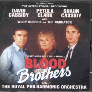 Blood Brothers (1995 album) - Image: Blood Brothers (1995 album) cover