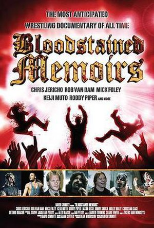 Bloodstained Memoirs - Promotional Poster for Bloodstained Memoirs