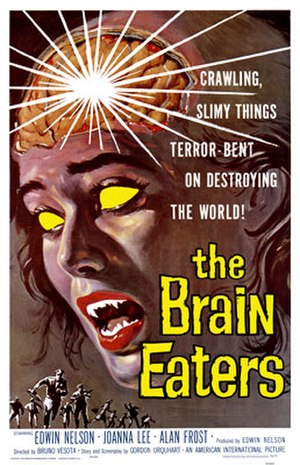 The Brain Eaters - Theatrical release poster by Albert Kallis