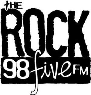 CJJC-FM - Image: CJJC The Rock 98five logo