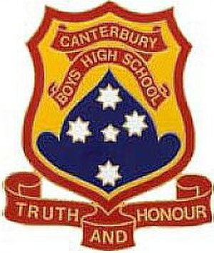 Canterbury Boys' High School - Image: Canterbury BHS Logo