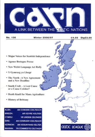 Carn - Carn Issue 136, cover dated Winter 2006/07