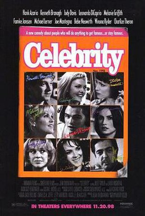 Celebrity (film) - Theatrical release poster